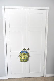 What If We Did Something Like This For The Closet Doors? Keep Calm And  Decorate: Updating Closet Doors