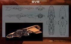 Empress Jamyls Cruiser by Enterprise-E.deviantart.com on @deviantART