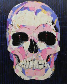 """Saatchi Art Artist Christophe Heymann; Painting, """"Tete de Mort"""" #art"""