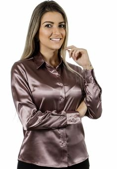 blousewatcher (@blousewatcher) | Twitter Sexy Blouse, Blouse And Skirt, Blouse Outfit, Satin Top, Black Satin, Silk Satin, Secretary Outfits, Satin Underwear, Satin Bluse