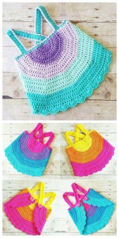 Crochet Baby Swing Top Free Crochet Pattern for Summer Crochet Summer Tops, Crochet For Kids, Free Crochet, Knit Crochet, Crochet Baby Sweaters, Crochet Baby Clothes, Baby Knitting, Crochet Designs, Crochet Patterns