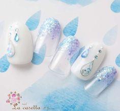Red Nail Designs, Nail Designs Spring, Stylish Nails, Trendy Nails, Japan Nail, Self Nail, Soft Nails, Pastel Nails, Japanese Nail Art