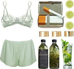 """""""mojitos."""" by cauchemar-exquis ❤ liked on Polyvore"""