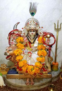 Navratri Images, Mata Rani, Lord Murugan, Durga Maa, Samurai, Faith, Painting, Painting Art, Paintings