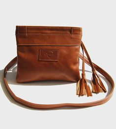 Mini Leather Messenger Bag | Get a little peek into the equestrian life with this beautiful... | Messenger Bags