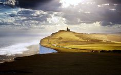 Belle Tout Lighthouse between Birling Gap and Beachy Head, Sussex