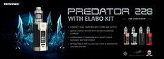 WISMEC Predator 228 with Elabo Kit - Compact, Powerful