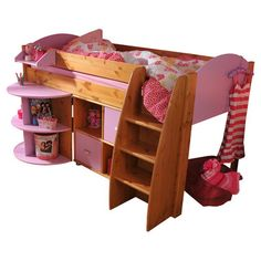 Stompa Rondo Single Mid Sleeper Bunk Bed | Wayfair UK