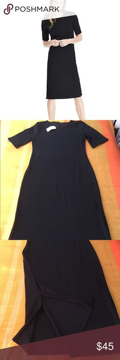 NWT Banana Republic Short-Sleeve Ribbed Midi Dress Never worn - brand new midi dress. Banana Republic Dresses Midi