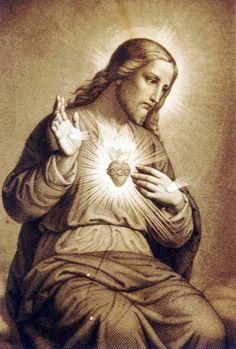 """JESÚS: """"HE AQUÍ EL CORAZÓN QUE TANTO HA AMADO A LOS HOMBRES Y SÓLO RECIBE DE LA MAYOR PARTE DE ELLOS INGRATITUDES"""""""