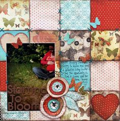 Paper Patchwork Layout