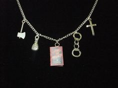 Hey, I found this really awesome Etsy listing at https://www.etsy.com/listing/222952256/crime-punishment-book-necklace