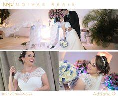 Adriana #eusounovanoiva #noivasreais #vestidosdenoiva #noiva #bride #weddingdress #weddingdresses #casamento
