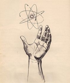 Illustration of the atom