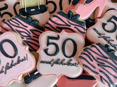 50 birthday cookies - Google Search