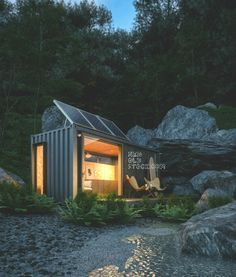 Micro Shipping Container Living - Single Container - Storstac