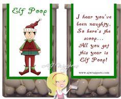 Elf Poop Tic Tac Wrapper 2 - Click Image to Close