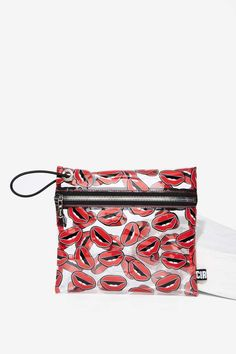 Circus by Sam Edelman Miles Clear Bag - Lips - Accessories | Bags + Backpacks