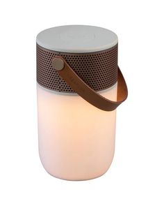 Shop aGlow Bluetooth Speaker Light from Kreafunk at Neiman Marcus Last Call, where you'll save as much as on designer fashions. Travel Speakers, Small Speakers, Cool Bluetooth Speakers, Direct Lighting, Cool Lighting, Metal Grill, Cool Shapes, Loa, Technology Gadgets