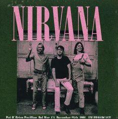 Nirvana - Pat O' Brian Pavillion, Del Mar, CA, December 28th, 1991