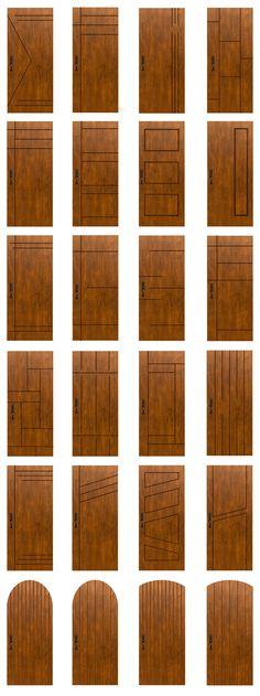 Main door design modern woods Ideas for 2019