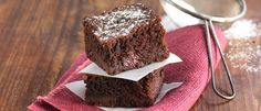 Double Chocolate Boysenberry Brownie  recipe from Food in a Minute