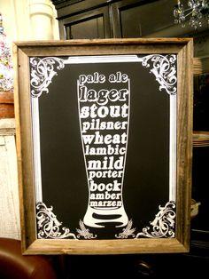 beer sign!
