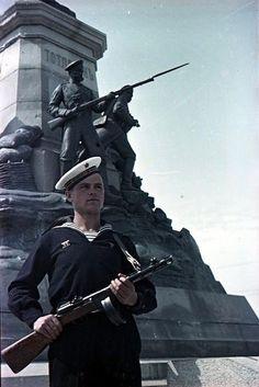Севастополь 1949 года в цвете - История и современность