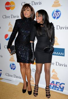 History repeating: Whitney Houston was found dead in a bath tub nearly three years to the time of her daughter's incident; seen above, Bobbi Kristina and Whitney arrived at Clive Davis' 2011 Pre-GRAMMY Gala at the Beverly Hilton Hotel in Los Angeles Whitney Houston, Beverly Hills, Bobbi Kristina Brown, Mommys Girl, Gone Girl, Black Families, Star Wars, Hip Hop Fashion, Bobby Brown