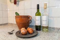 Leuke handvorm keukentegeltjes 'Friesche witjes' in 13x13