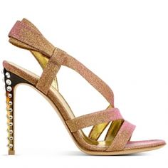 Classy Glam with cheeky Heels: Gianvito Rossi Spring/Summer 2012 Sandals #Shoes