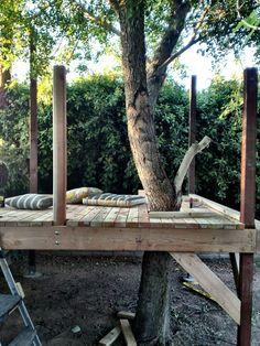 tree fort in progress: suchity such