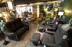 Stressless area  Finds Design & Decor, Chico CA furniturechico.com