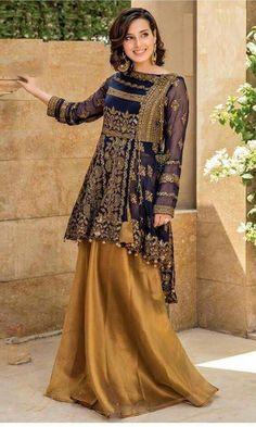 Pakistani Suits For All Occasions – Fashion Asia Pakistani Wedding Outfits, Pakistani Dresses, Indian Dresses, Indian Outfits, Stylish Dress Designs, Stylish Dresses, Fashion Dresses, Pakistani Couture, Pakistani Dress Design