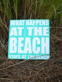 This is perfect:) I am ready to head back to the beach right now!