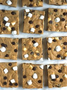 easy, rich, fudgy no bake smores cookie dough bars; made with a lot of butter, graham crumbs, flour, sugar and sweet condensed milk