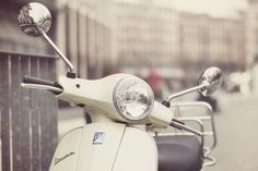 vespa. I love. Tan or white.