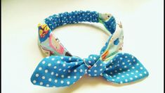 Baby & Kids Head Wrap Tutorial   DIY by Elysia Handmade - YouTube