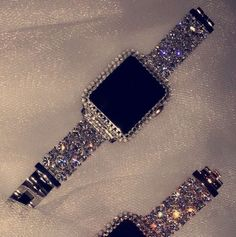 Bijoux – Tendance : Apple Watch Band, Luxury Bling Crystal diamond, Stainless Steel Link Bracelet for iWatch fits Series 4 3 2 1 Apple Wrist Watch, Best Apple Watch, Apple Watch Bracelets, Link Bracelets, Ankle Bracelets, Apple Watch Bands Fashion, Cute Apple Watch Bands, Phone Cases, Car Gadgets
