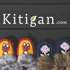 Our moccasins are all one of a kind! Be sure to grab them before they are gone !! Visit www.Kitigan.com #mocmonday #moccasin #rockyourmocs #native #ndn #art #cozy #fall #beadwork #fur #ooak #ootd #essentials #loveit #favourites