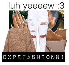 """Untitled #150"" by dxpefashionn1 ❤ liked on Polyvore featuring MICHAEL Michael Kors, UGG and Relaxfeel"