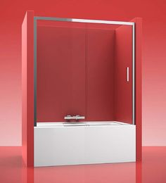 Mampara de bañera URBAN 500, se compone de 1 fijo y 1puerta corredera. Según el modelo de mampara que elija,  el acceso, será  por la derecha o bien por la izquierda.