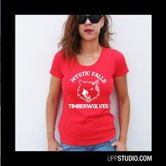 Camiseta #TheVampireDiaries #CrónicasVampíricas #Salvatore #IanSomerhalder #Diseño #Design con envío #gratis sólo en www.UppStudio.com
