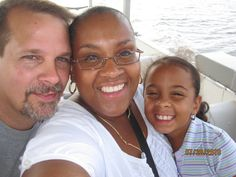 Eddie, Michelle & Daijah - Raleigh, NC ~ Beautiful interracial family #love #wmbw #bwwm