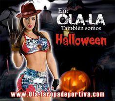 En OLA-LA ROPA DEPORTIVA, también somos HALLOWEEN...   Estamos contigo en todo momento y en toda ocasión... Feliz HALLOWEEN.   https://ola-laropadeportiva.com/  Contáctenos por whatsapp al +57 3188278826.  #Halloween #Octubre #Fashion #Ropadeportiva #fitnesslifestyle #foreverolala #bodyfit #Fitgirl #workout #Olalaropadeportiva #Ecommerce #Comercioelectrónico #Colombia