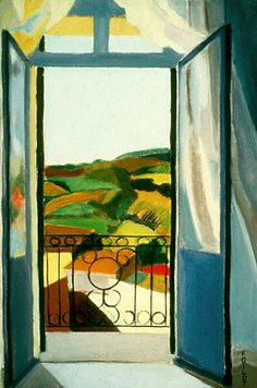 french window in blue. Françoise Gilot is a French painter and bestselling author. She is also known as the lover and artistic muse of Pablo Picasso from 1944 to and the mother of his children, Claude Picasso and Paloma Picasso Openings Pablo Picasso, Women Artist, Female Artist, Francoise Gilot, Modern Art, Contemporary Art, French Windows, French Doors, Window Art