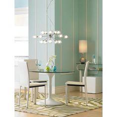 Possini Euro Design Glass Orbs 15-Light Pendant Chandelier
