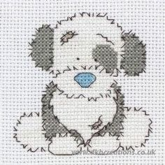 Tatty Teddy My Blue Nose Friends Fluffy Cross Stitch Kit