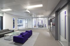 Using themes complementing MLA's HQ for Kames Capital in Edinburgh, we created a welcoming and enjoyable experience for clients and staff within a contemporary and exciting brand environment. A flexible, inspirational workplace environment designed to foster collaboration between staff and also accommodate future change was paramount.