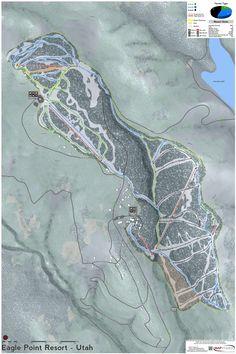 Utah Ski Maps on